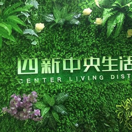 武汉四新生活区广告工程